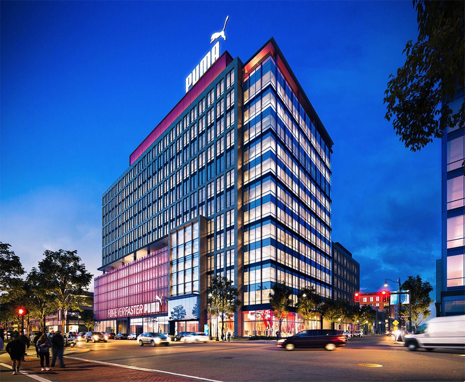 puma new north american headquarters