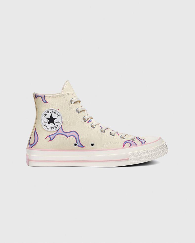 Converse x GOLF WANG — Chuck 70 Flames Pastel Yellow