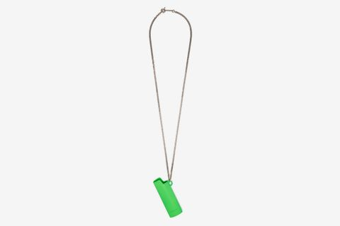 Lighter Case Metal Necklace
