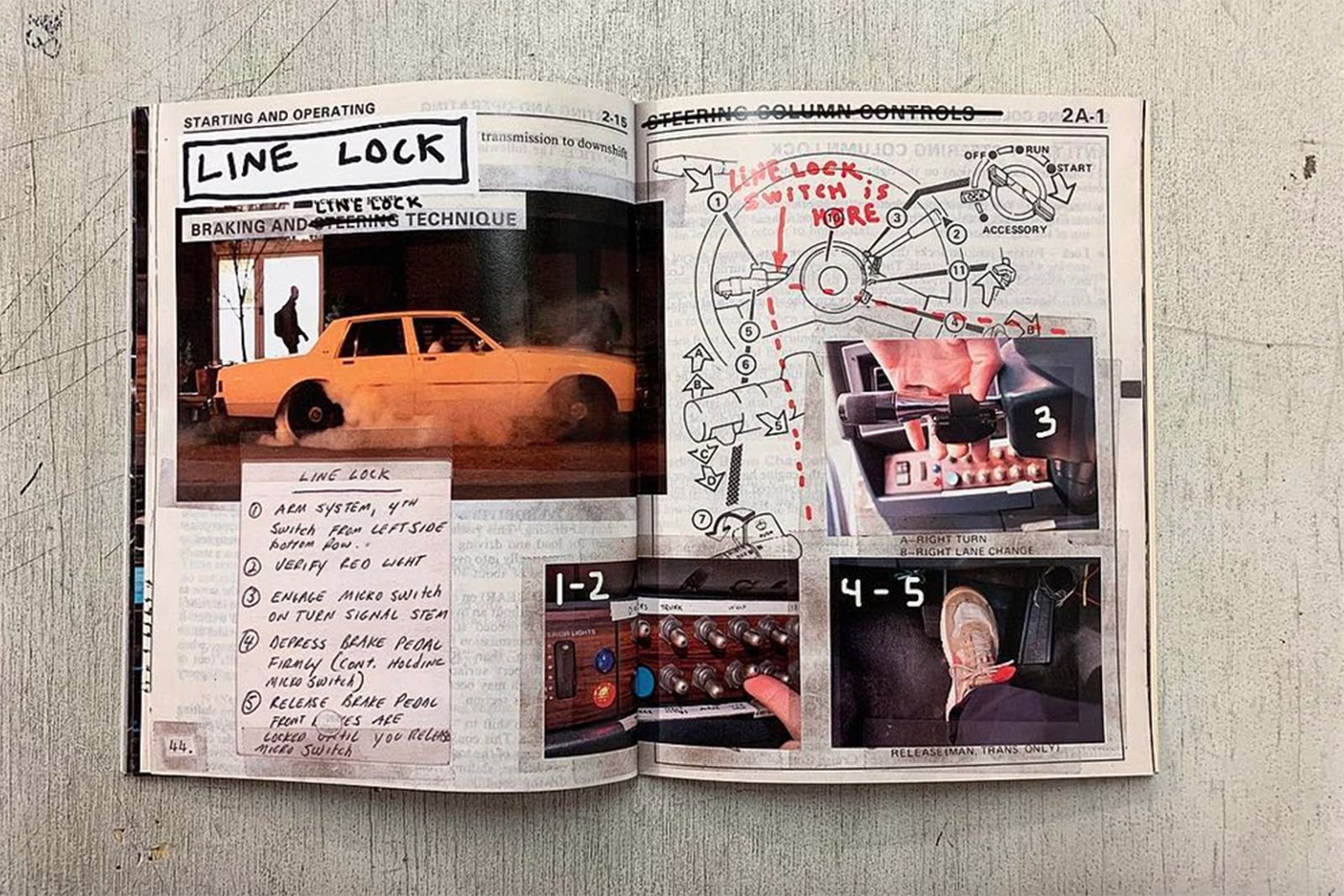 tom sachs caprice owners manual second edition Caprice Owner's Manual