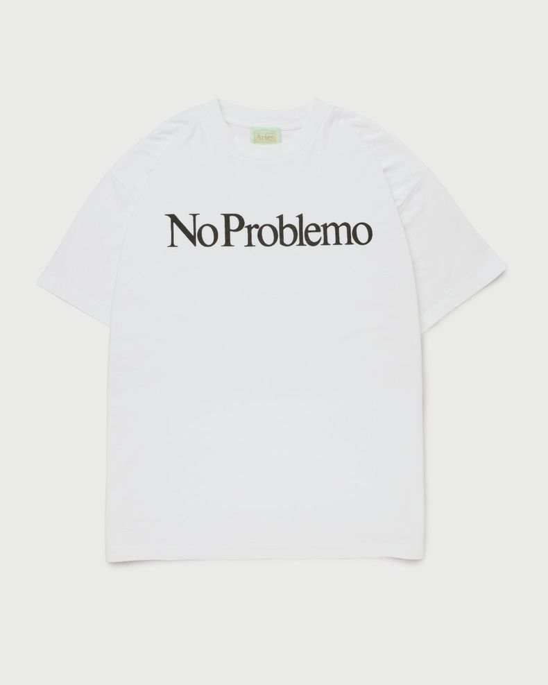 Aries — No Problemo Tee White