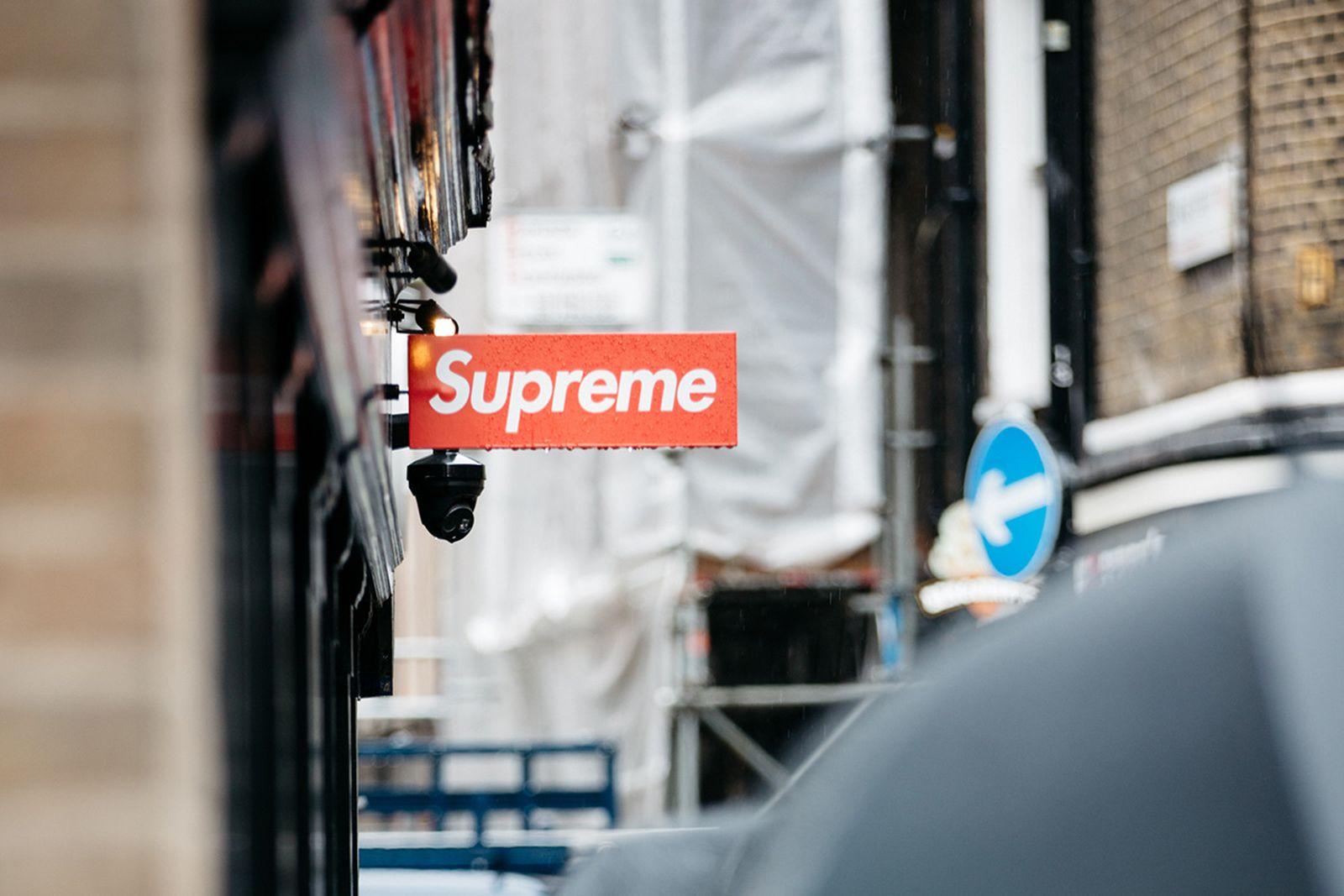 supreme london storefront vandalized reward