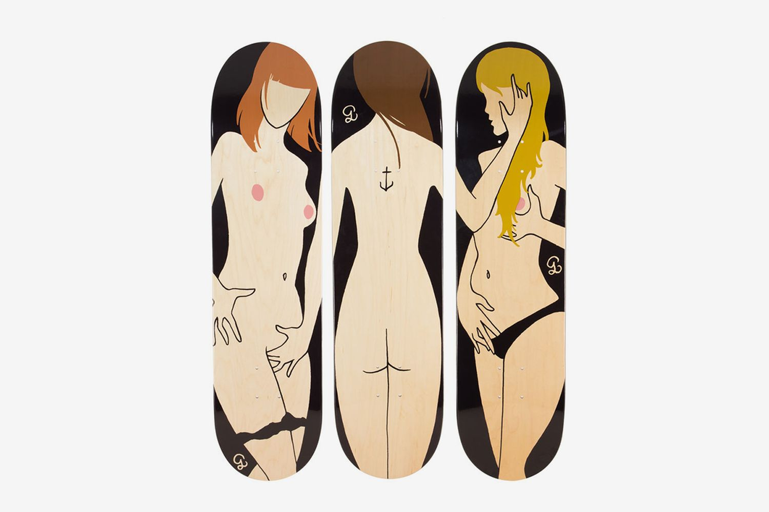 Triptych The Three Graces