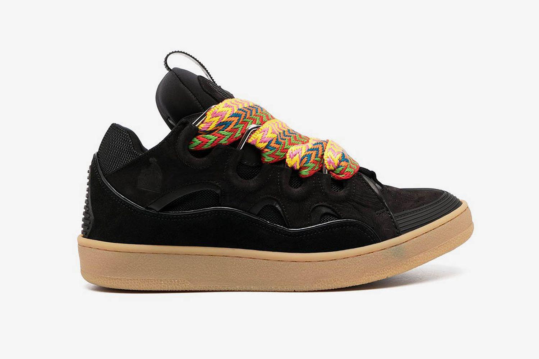 Zig Zag Curb Sneakers