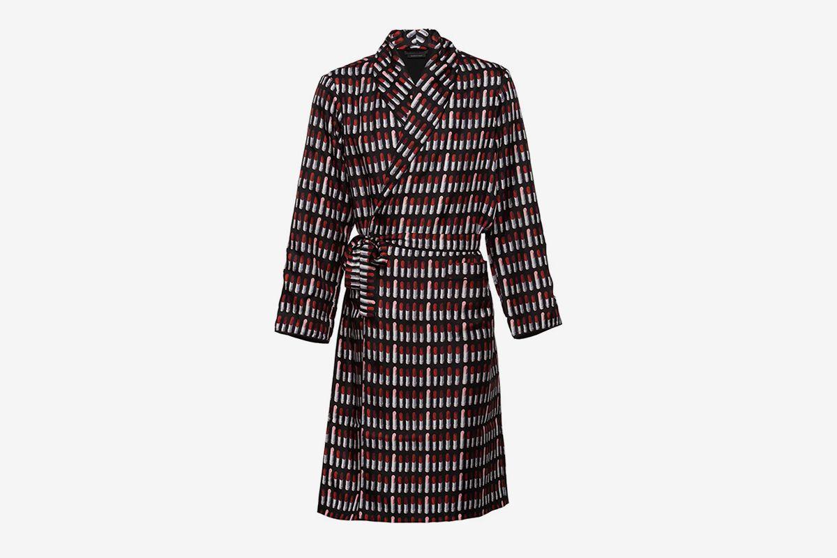 Silk Twill Robe