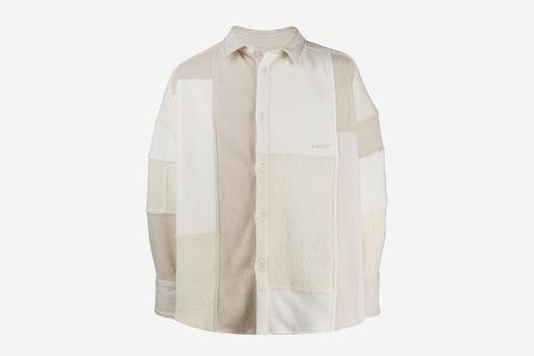 Patchwork Fleece Jacket