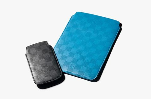 c8732cd9a5a French fashion house Louis Vuitton presents its latest lineup of  accessories aimed at proud owners of Apple gadgets. The iPad mini and  iPhone 5 sleeves are ...