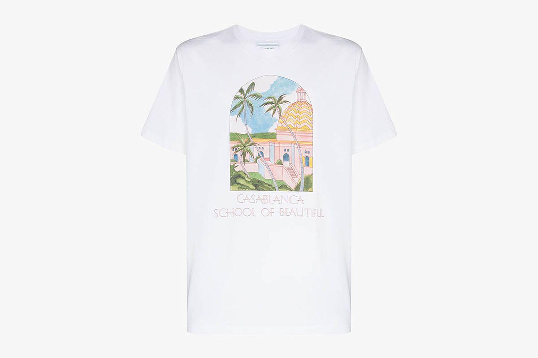 School Of Beautiful Print T-Shirt