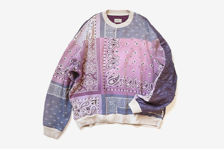 Fleecy Knit Bandana Bivouac Big Swt