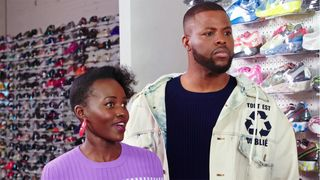 lupita nyongo winston duke sneaker shopping Lupita Nyong'o stadium goods us