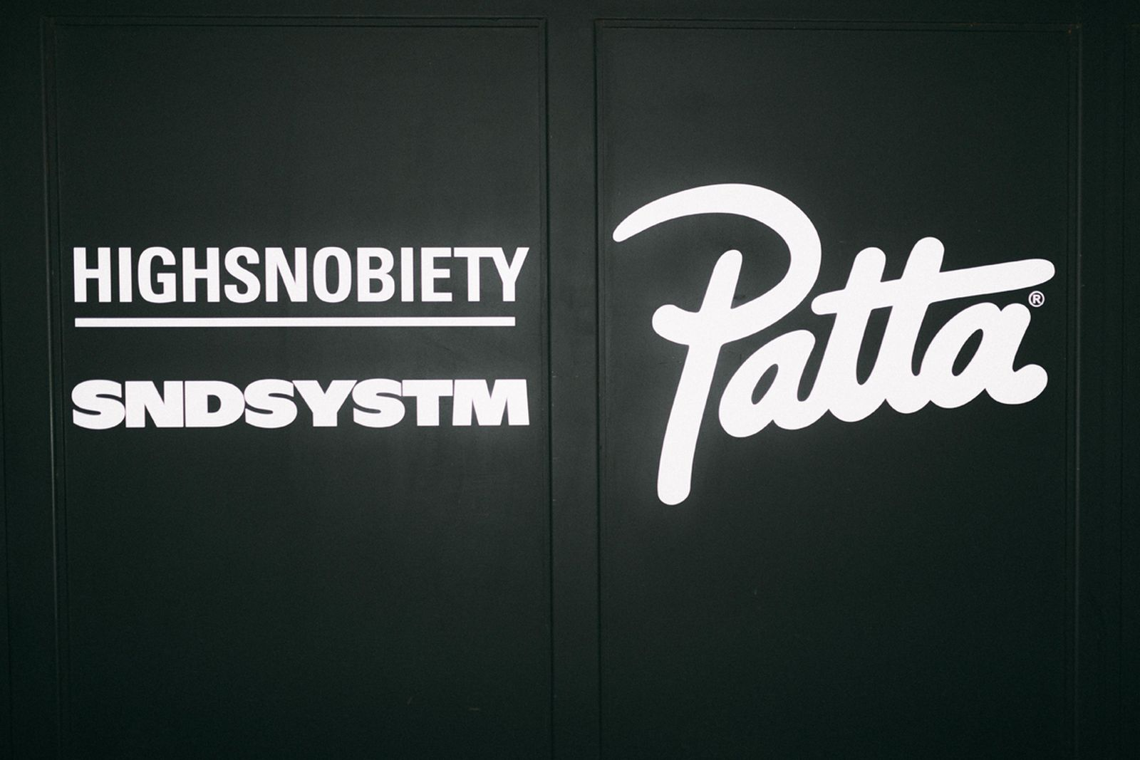 patta nyc afterparty Pop-Up Stüssy carhartt wip