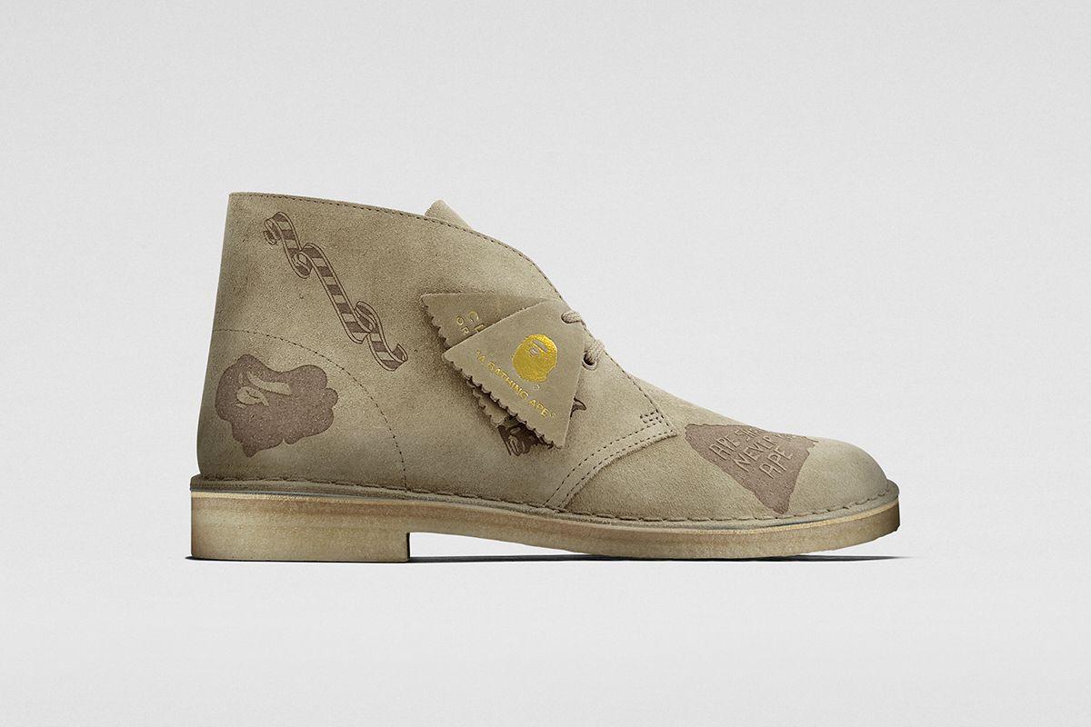 Raheem Sterling Debuts BAPE x Clarks Wallabees & Desert Boots 11