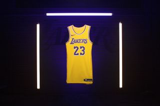 ad8590b0132 Here s Where to Cop LeBron James  Showtime-Inspired Lakers Jersey