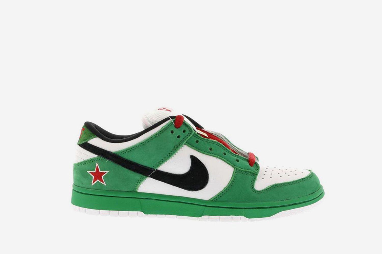 Dunk SB Low Heineken
