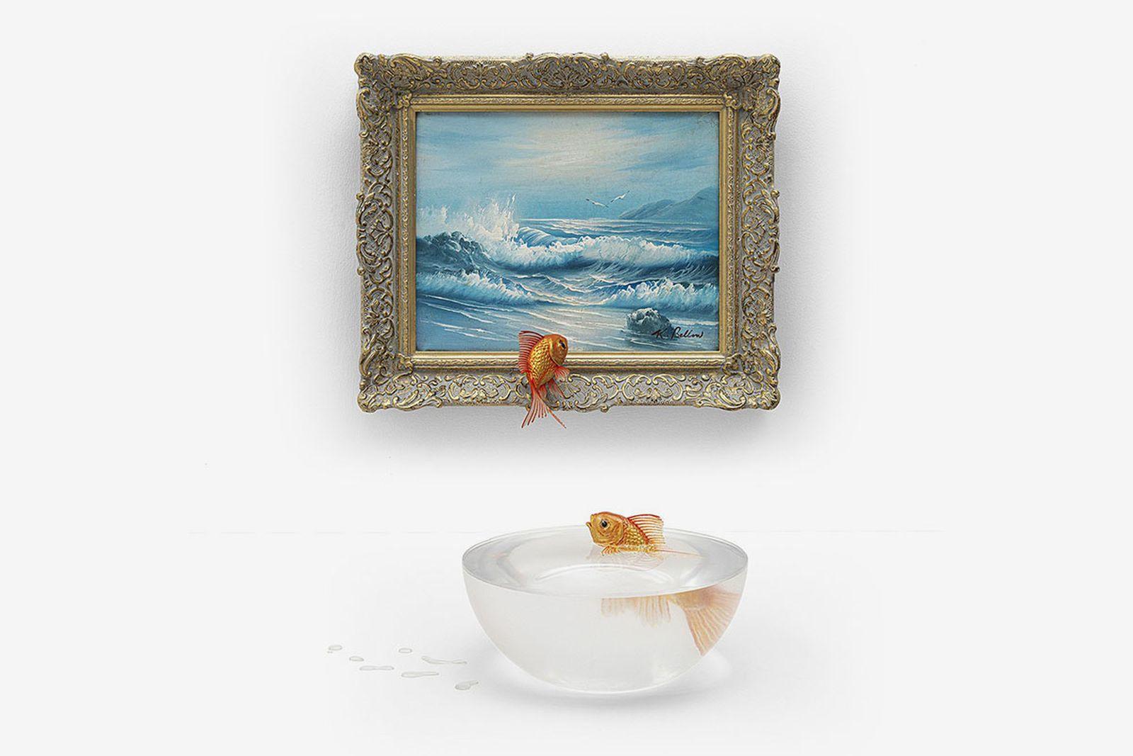Banksy Gross Domestic Product goldfish