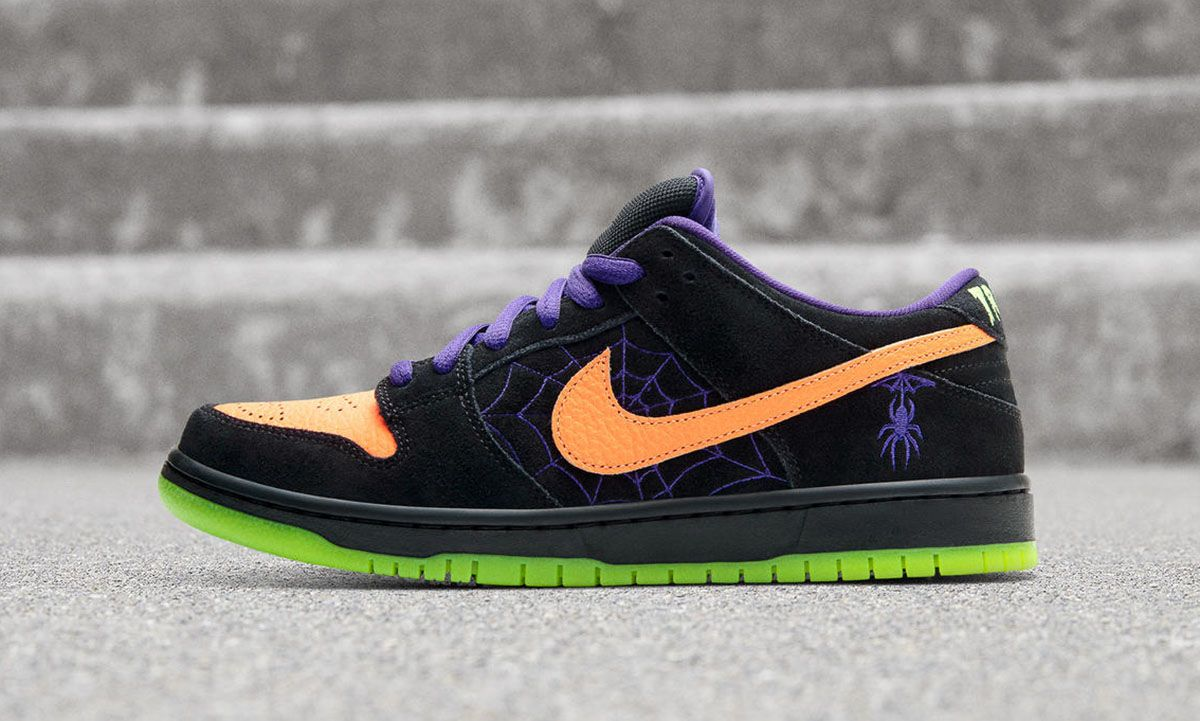 """Nike SB Preps for Halloween With Dunk Low """"Night of Mischief"""""""