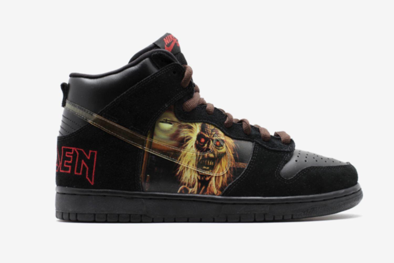 SB Dunk High Iron Maiden