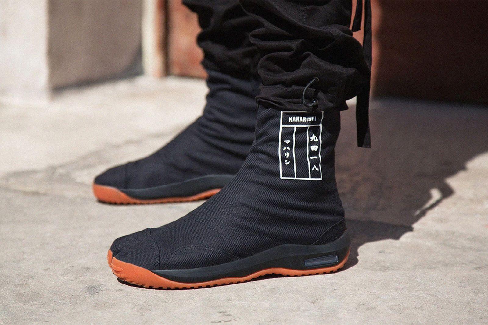 explaining the divisive appeal of the tabi shoe Abasi Rosborough Maison Margiela Nike