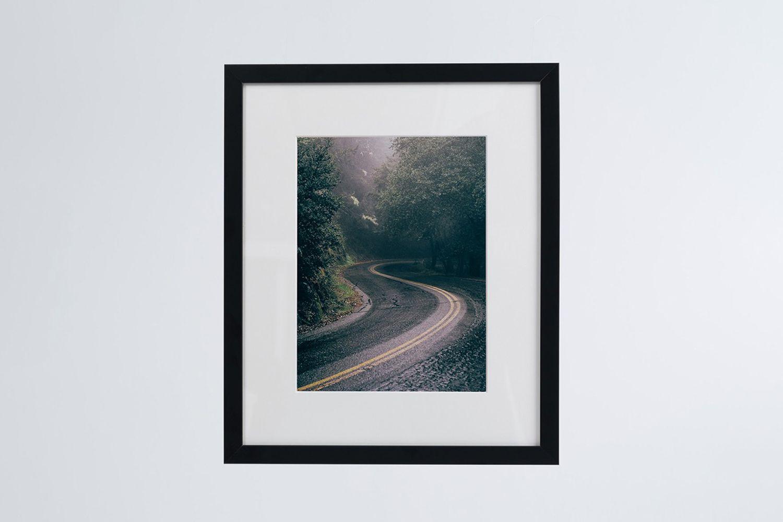Road Photo Print (framed)