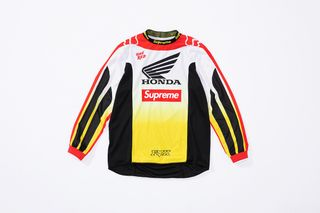 Supreme Announces Collab With Fox Racing & Honda