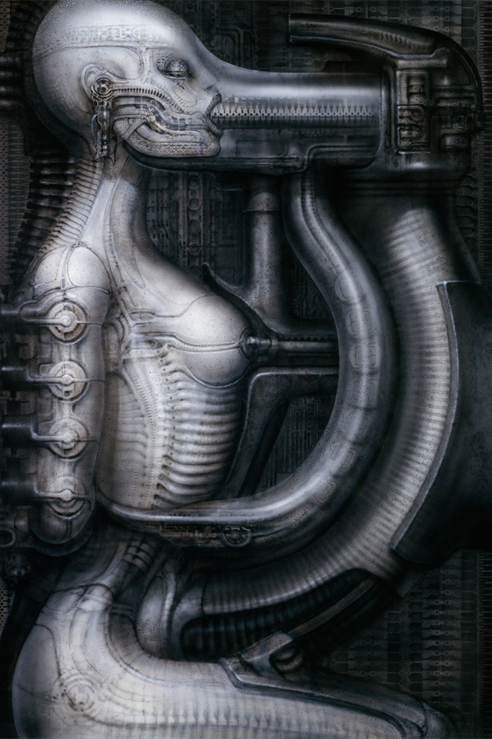 HR Giger, Biomechanoid I, 1975-83