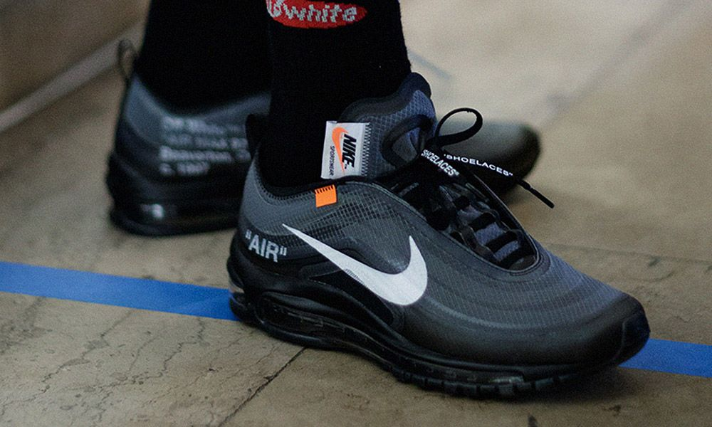 "A Closer Look at the New OFF-WHITE x Nike Air Max 97 ""Black"""