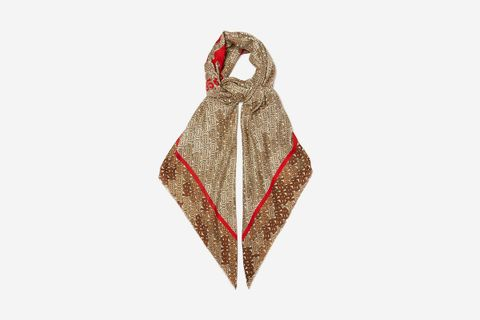 Horseferry-Print Scarf