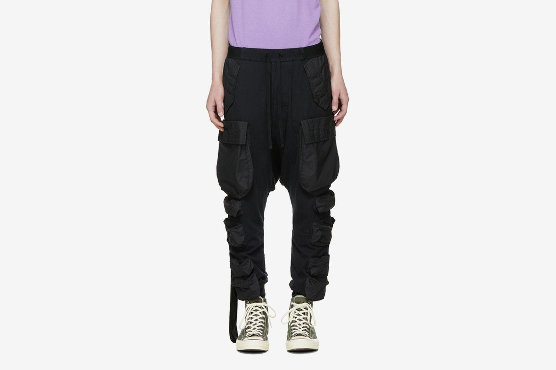 Jersey Pocket Cargo Pants