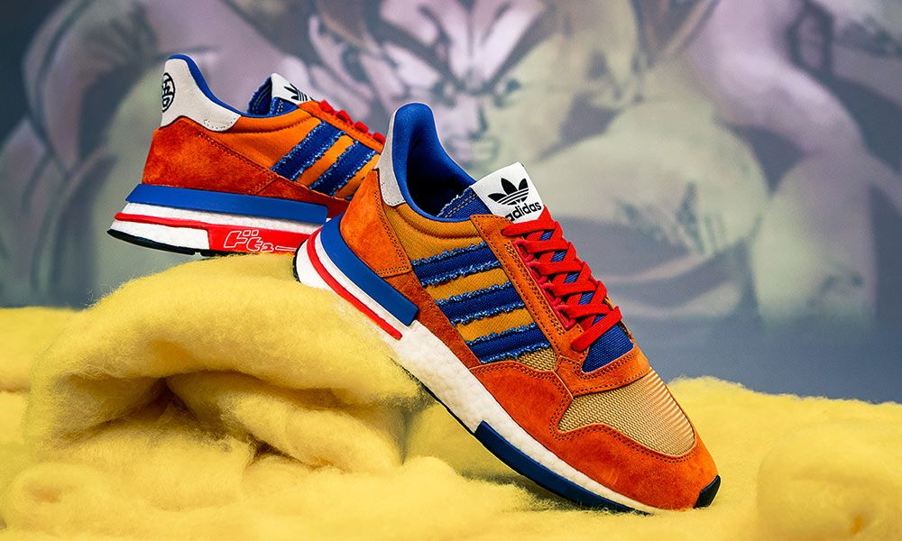 quality design 1583f 58ec3 Dragon Ball Z' x adidas ZX 500 RM