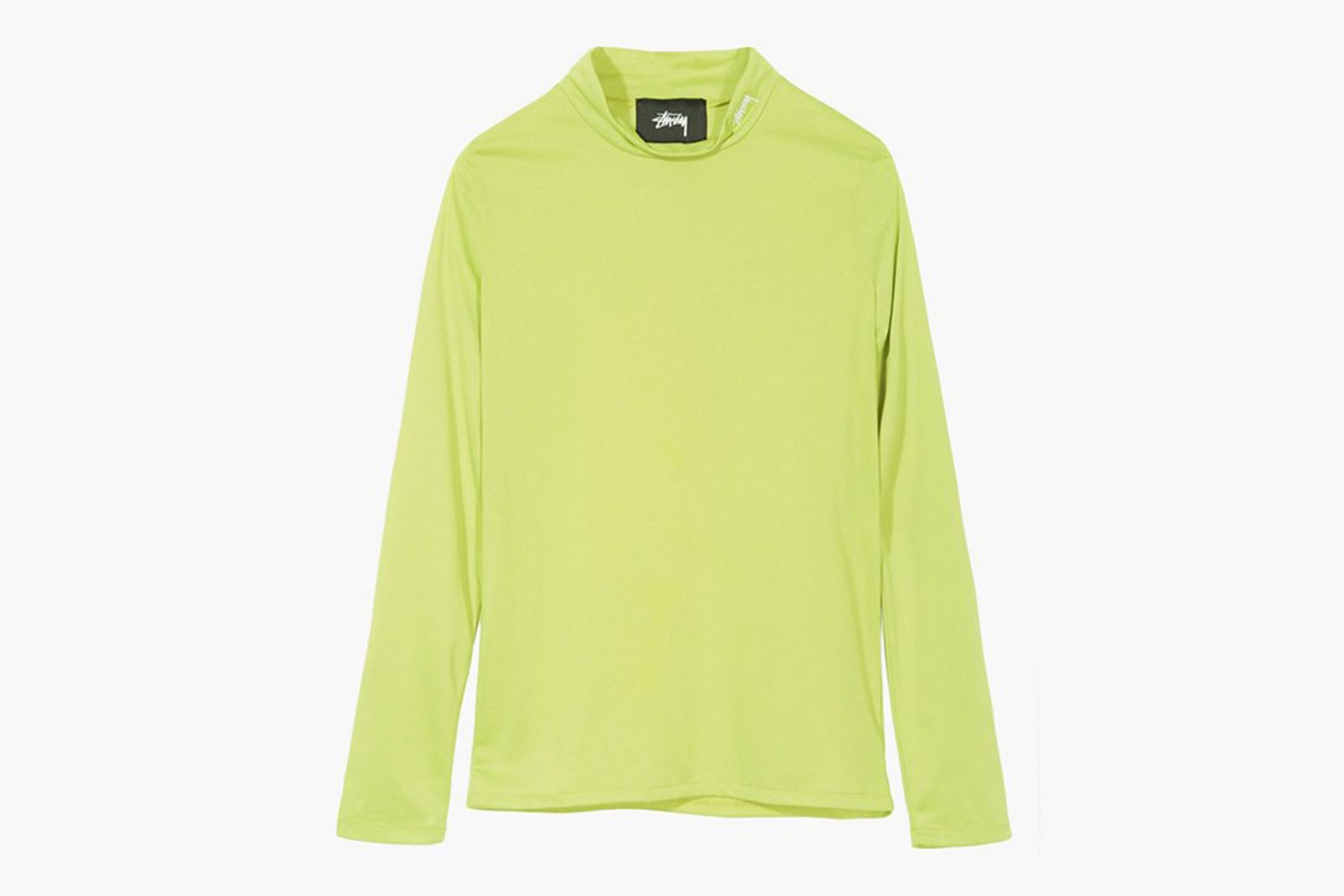 stussy anna tissue long sleeve 214454 0412 lime Nike Stüssy The North Face
