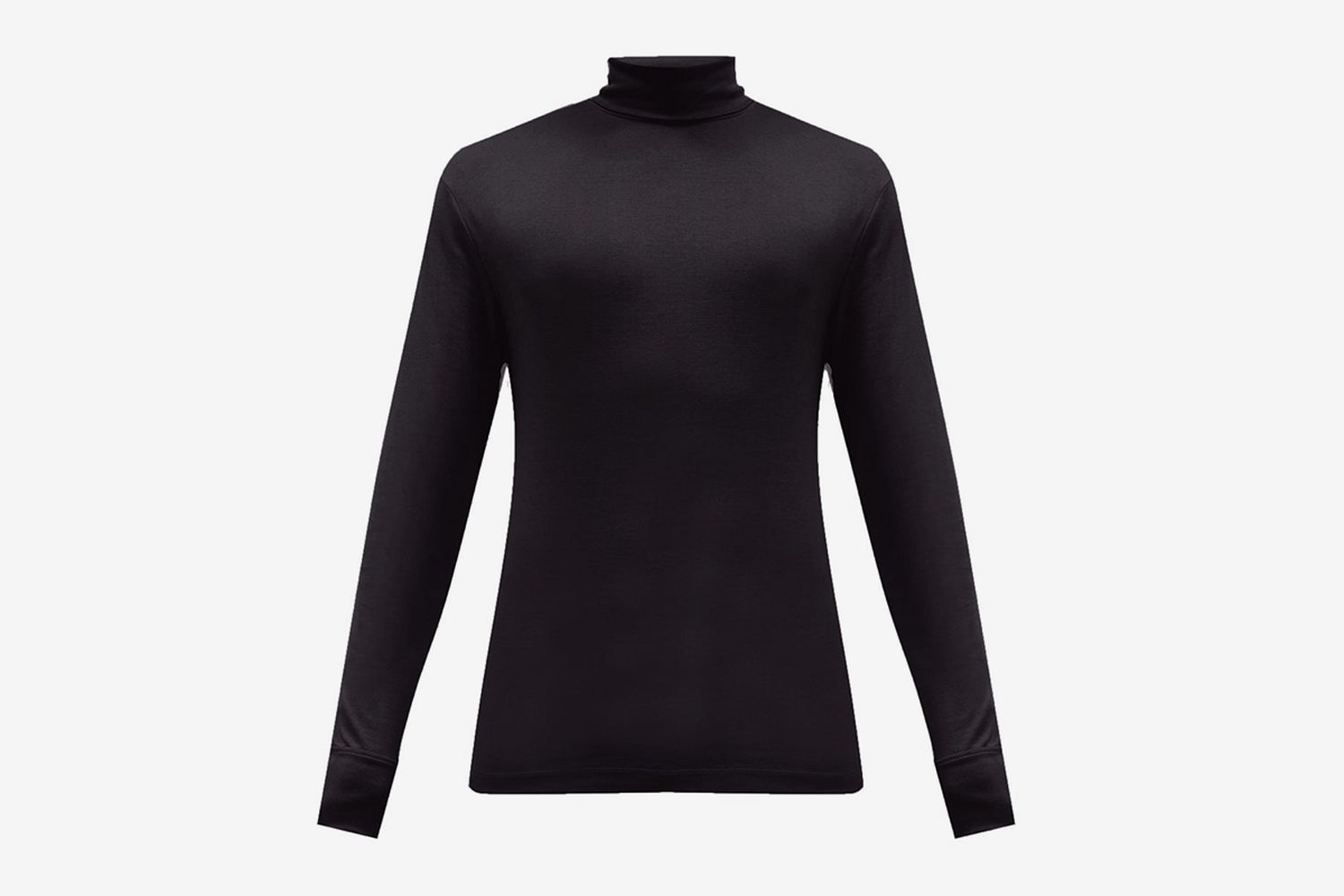 Roll-Neck Cotton-Jersey Sweater