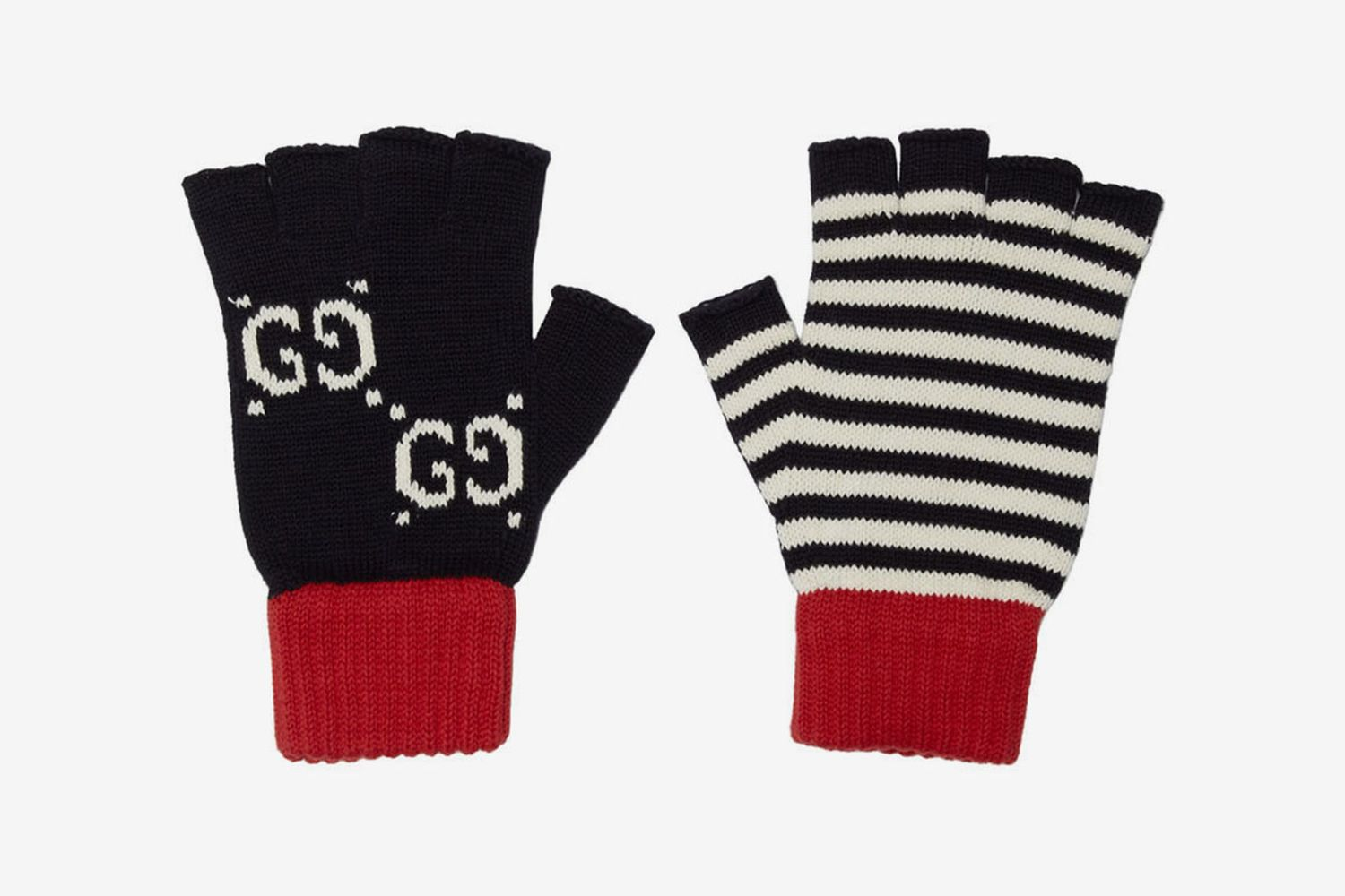 Striped GG Gloves