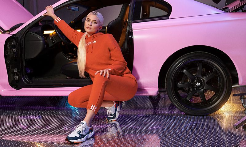 innovative design 37801 a92cb Kylie Jenner Is the Face of adidas's SS19 Falcon Campaign