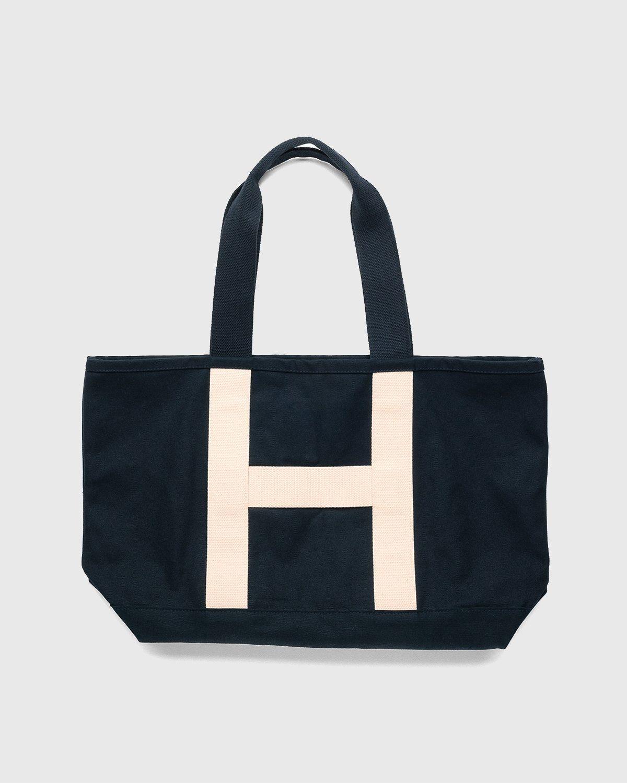 Highsnobiety – Heavy Canvas Large Shopper Tote Black - Image 1