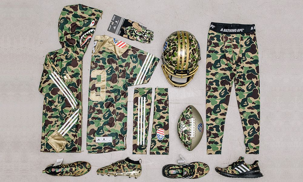 826b0212dbb GIVEAWAY: How to Win the Full BAPE x adidas Football Collection