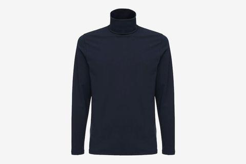 Cotton Turtleneck T-Shirt
