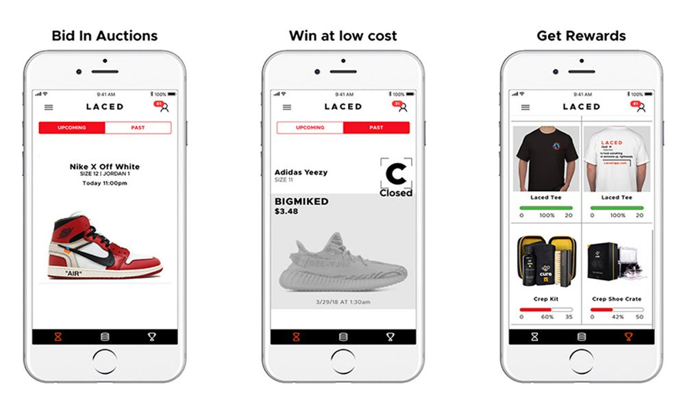 This App Lets You Win Hyped Sneakers for Less Than $1