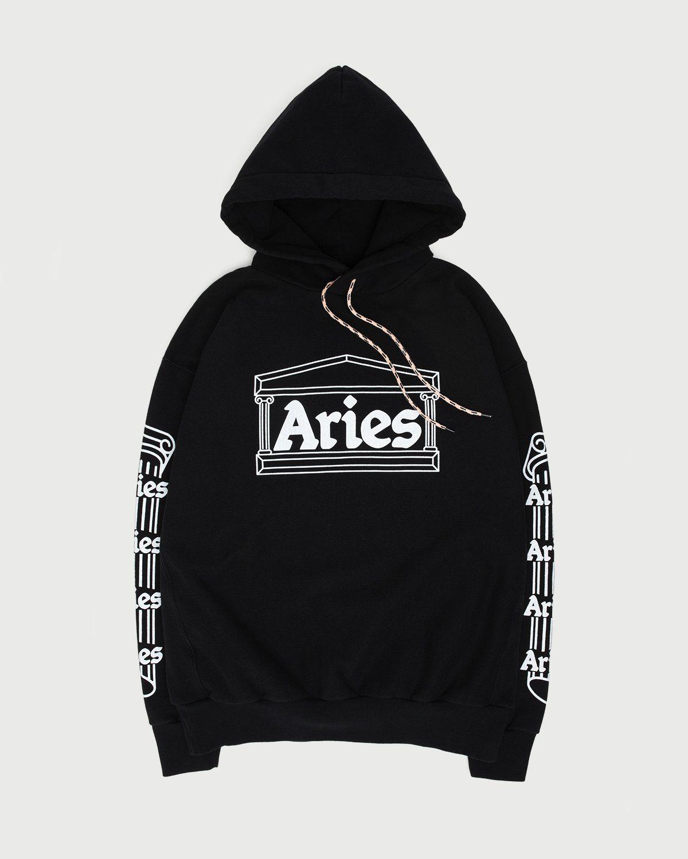 Aries - Temple Hoodie Black - Image 1