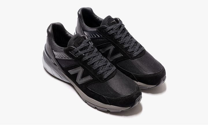 haven x new balance 990v5 black