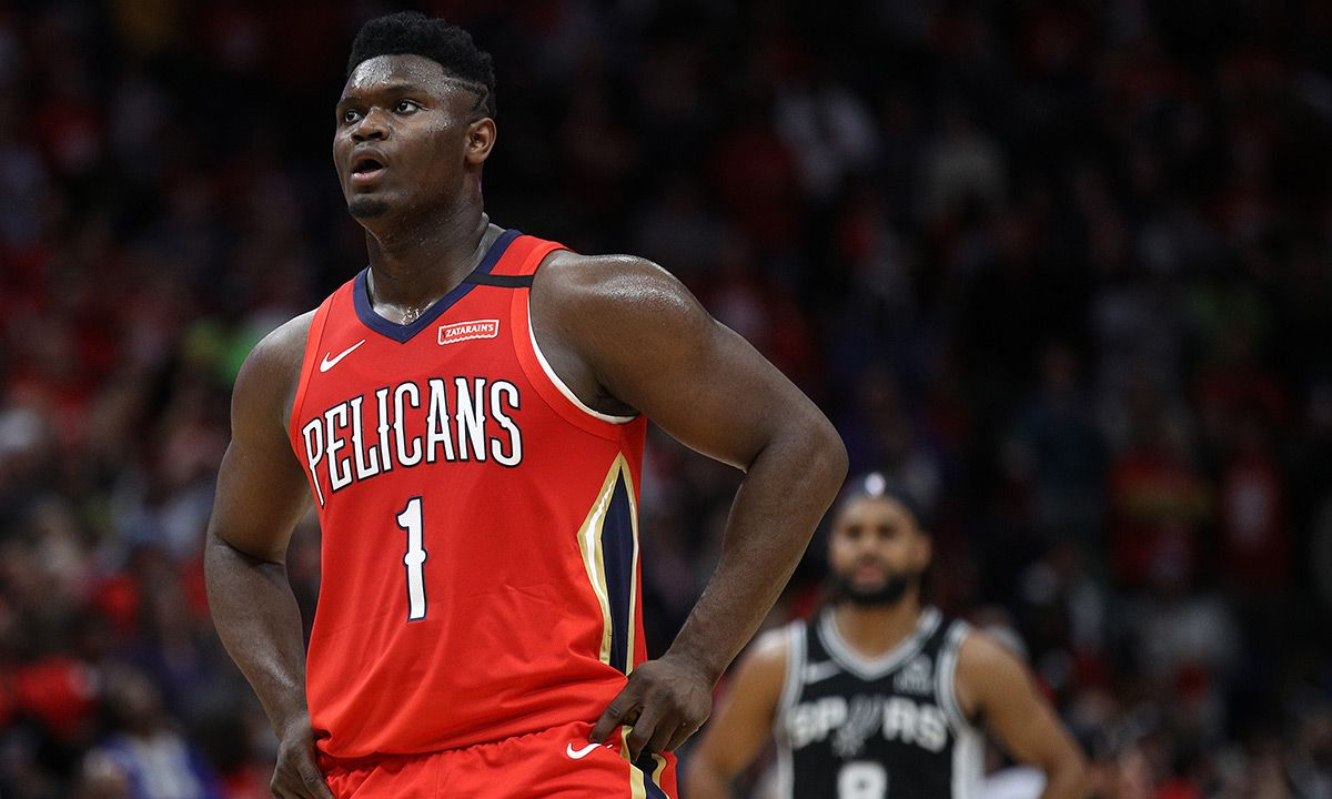 Twitter Can't Get Over Zion Williamson's Historic NBA Debut