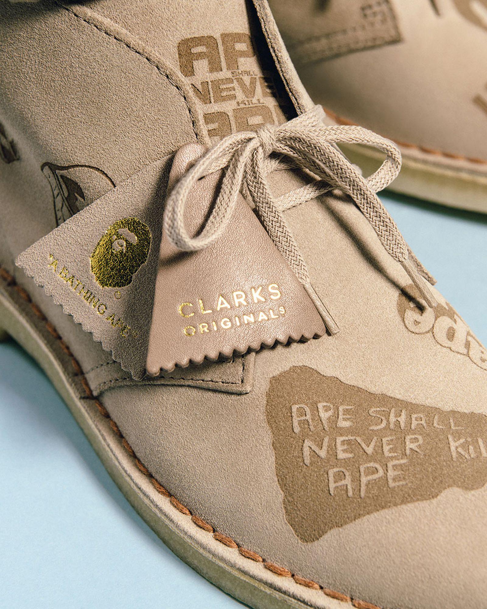BAPE x Clarks Desert Boot
