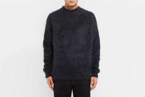 Mohair And Silk-Blend Sweater
