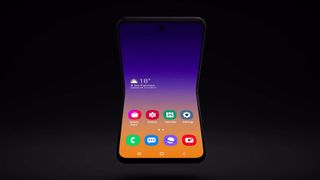 Samsung Foldable Flip Phone
