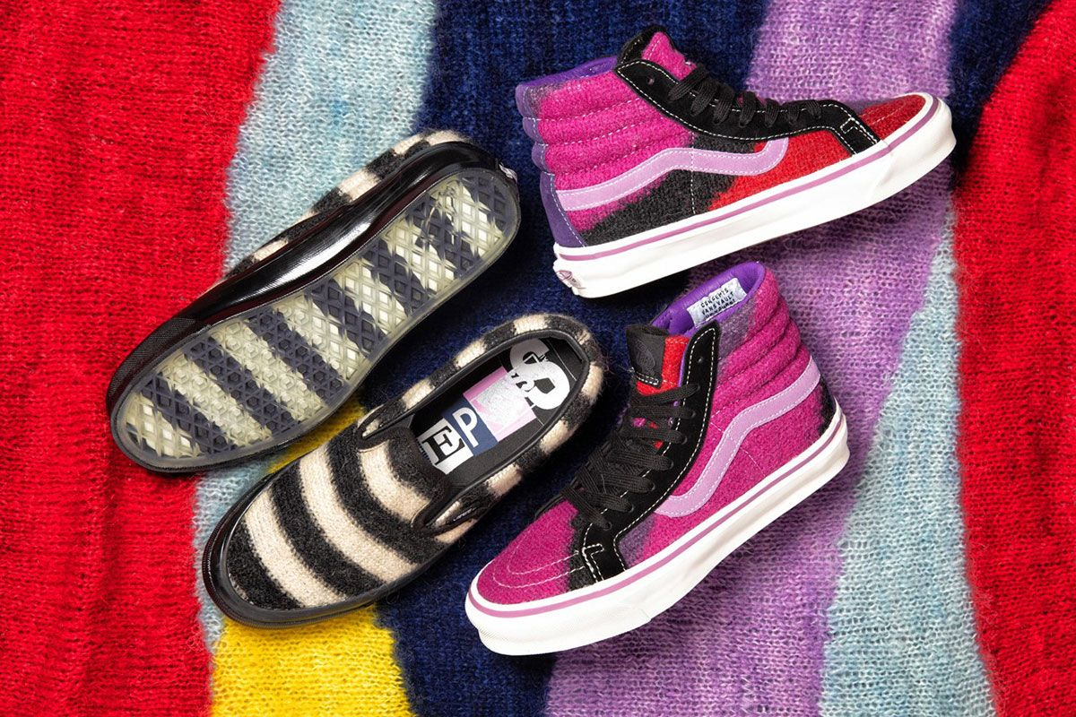 Concepts x Vans World's End sneakers