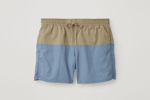 Colour-Block Swim Shorts