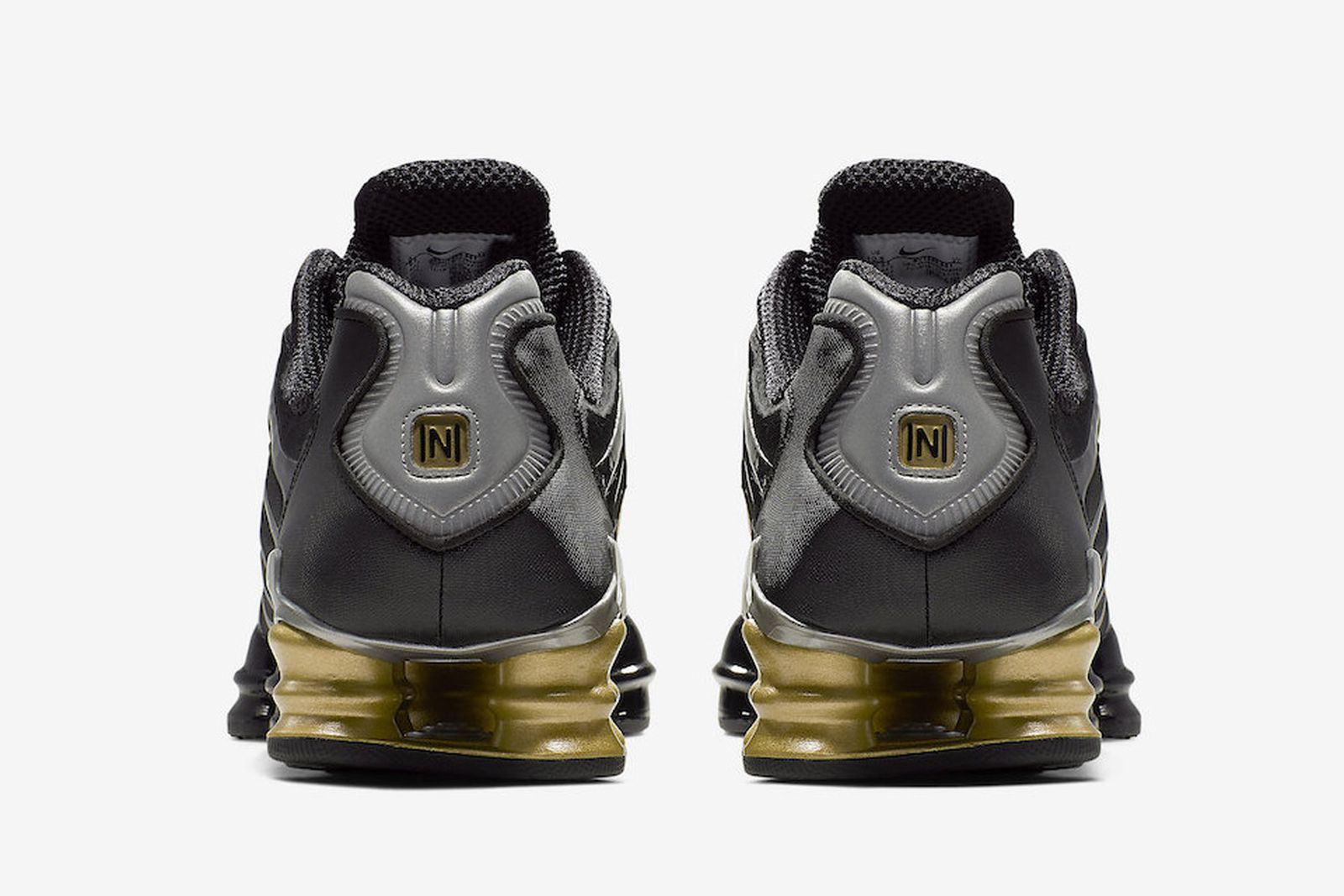 neymar nike shox tl black gold release date price