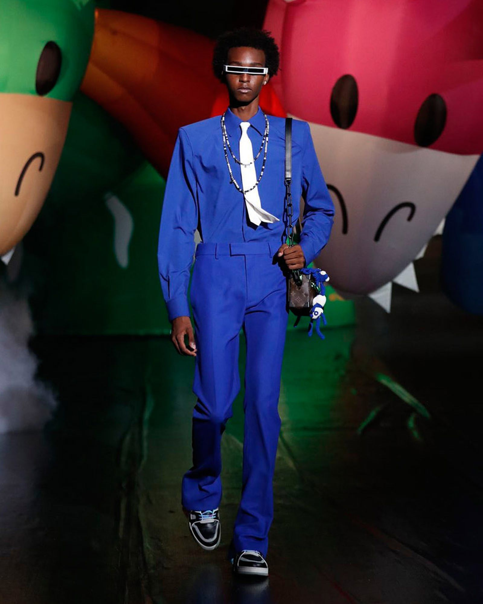 Louis Vuitton Men 2021 Spring Summer - Runway - For Louis Vuitton