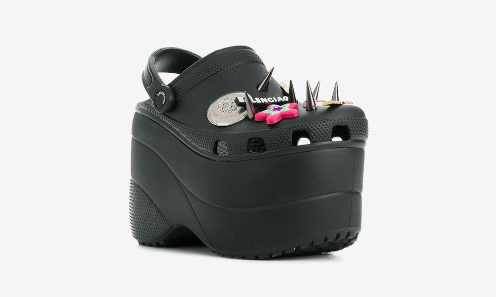 0c5730f1714c Balenciaga Platform Crocs  Release Date