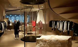 Alexander McQueen Opens New London Store at 27 Old Bond Street