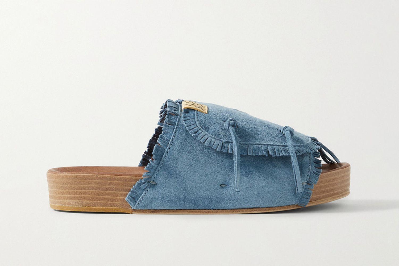 Christo Shaman-Folk Fringed Sandals